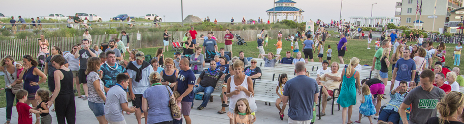 people having fun in Sea Isle City